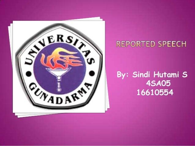 By: Sindi Hutami S 4SA05 16610554