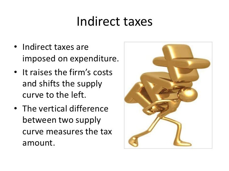 indirect taxes Chapter 6 direct and indirect taxes a tax may be defined as a pecuniary burden laid upon individuals or property owners to support the government, a payment exacted.
