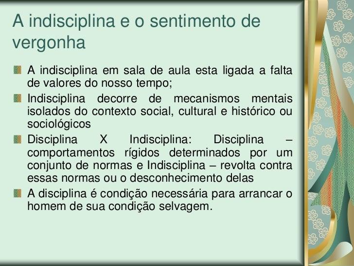 Indisciplina na escola Slide 2