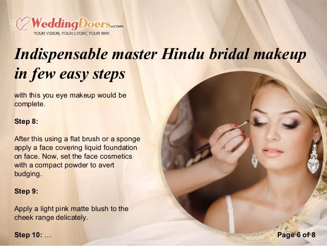 Indispensable Master Hindu Bridal Makeup In Few Easy Steps