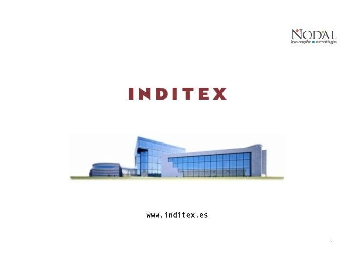 Case analysis inditex