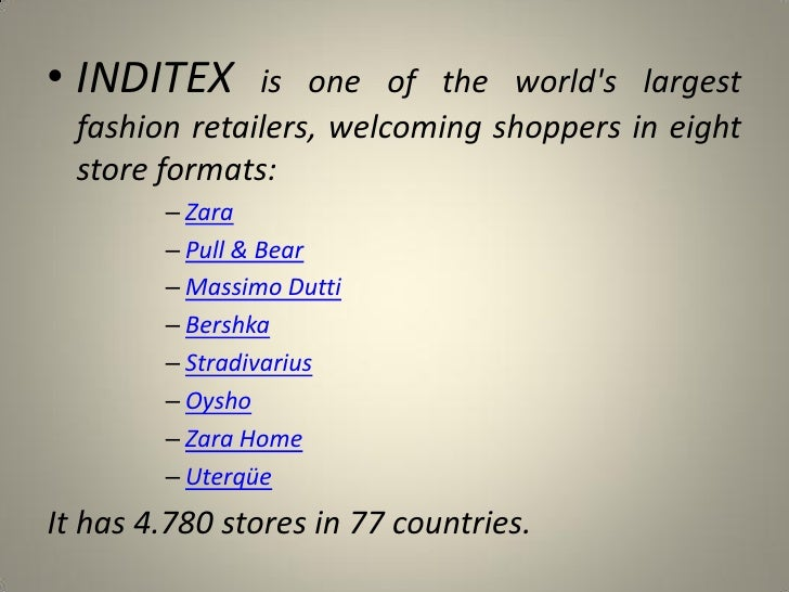 inditex group Official search engine for employment offers within inditex group find active  employment offers in the different brands and countries of inditex group.