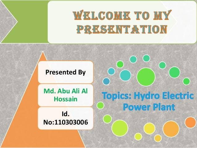 Presented By Md. Abu Ali Al Hossain Id. No:110303006