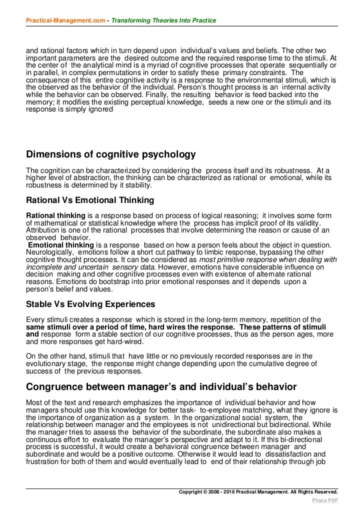 individual behavior in organization Individual behavior in organizations individual behaviour fuck analyse the relationship between management structure and culture and its effect on business .
