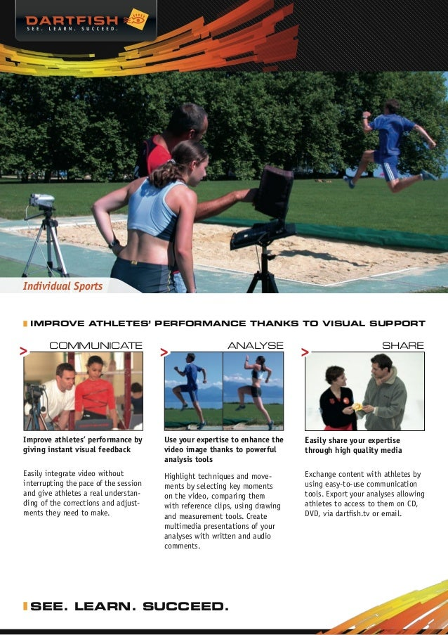 Individual Sports  Improve athletes' performance thanks to visual support       Communicate                               ...