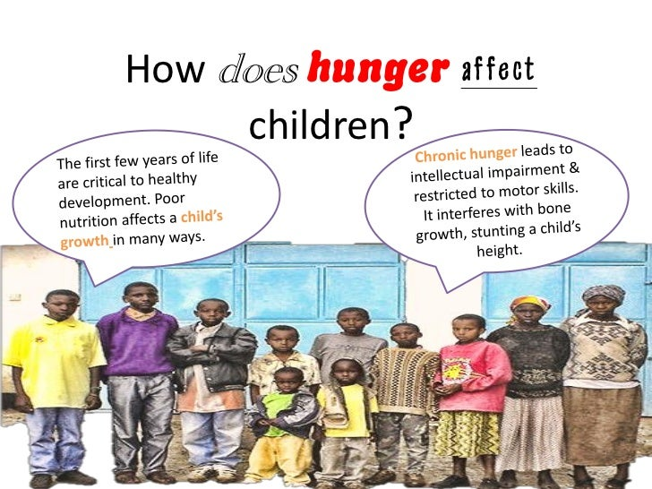 World hunger essays
