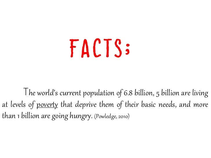 World Hunger & Poverty