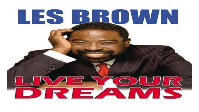 Live Your Dream Les Brown Pdf