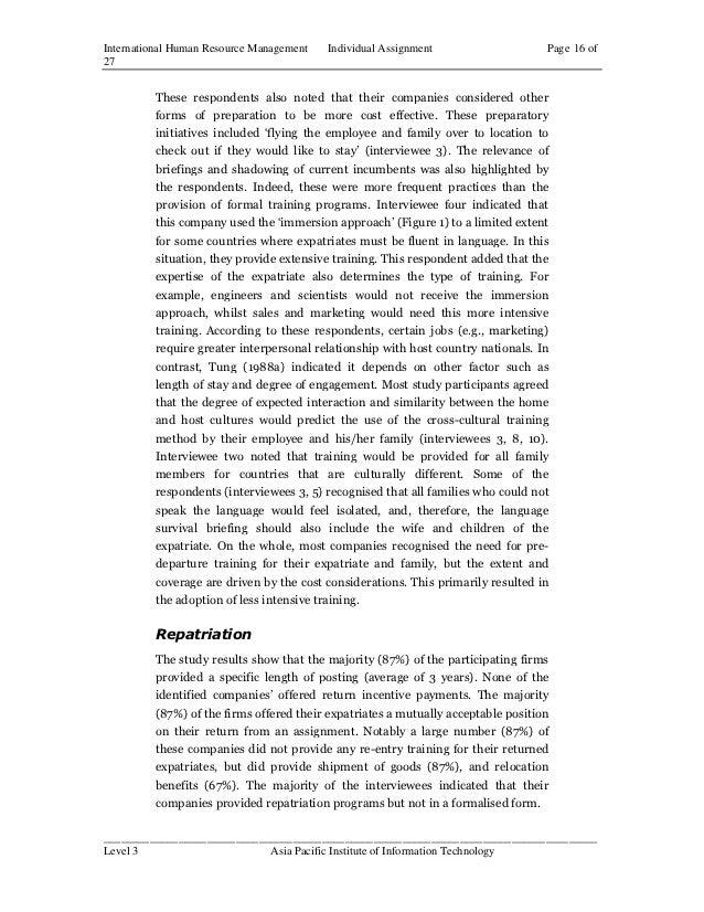 IMNPD Assignment Essay