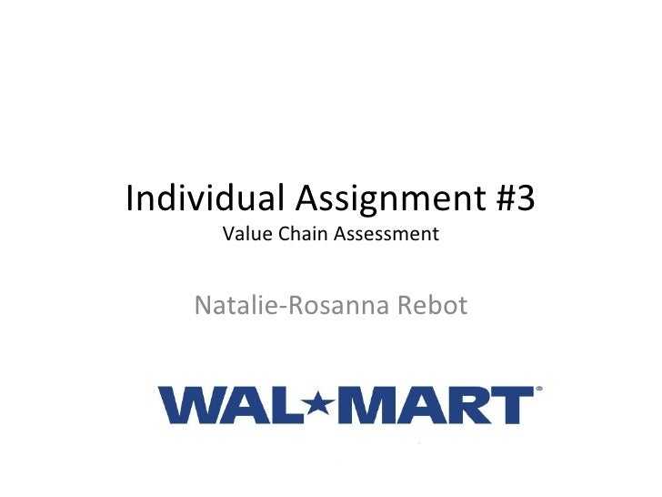 Individual Assignment #3 Value Chain Assessment Natalie-Rosanna Rebot