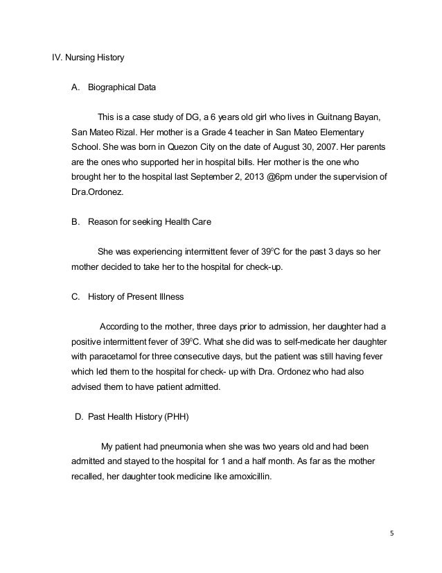 family case study nursing Nursing documentation 101: community – home care case study page 1 community – home care case study introduction this final case study is based on what you have learned in the course.