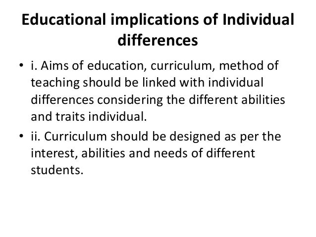 importance of education to an individual