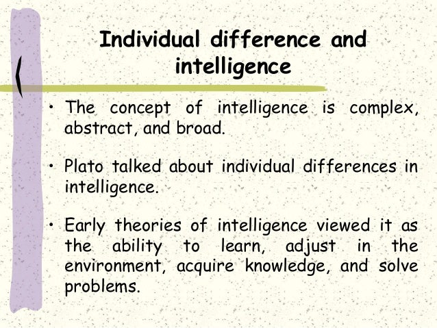 Individual Differences: Types, Causes and Role | Psychology