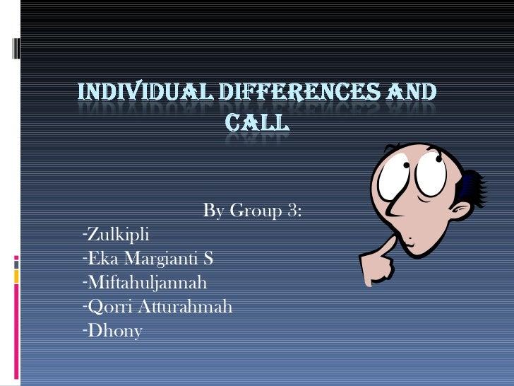<ul><li>By Group 3:  </li></ul><ul><li>Zulkipli </li></ul><ul><li>Eka Margianti S </li></ul><ul><li>Miftahuljannah </li></...
