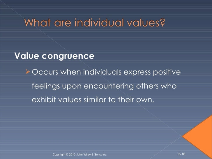 valuing the individual