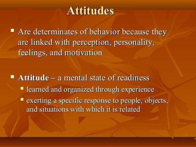 Leadership: Courage, Attitude & Behavior