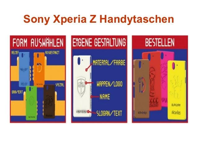 Sony Xperia Z Handytaschen