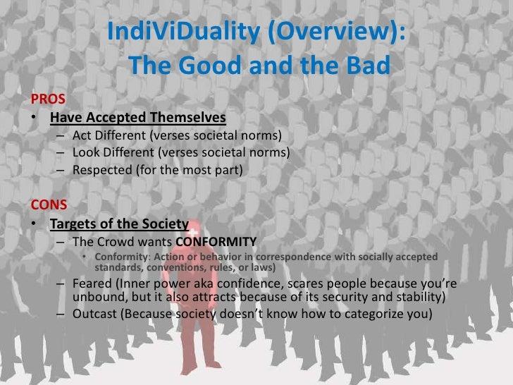 Individuality vs. Conformity - Lesson