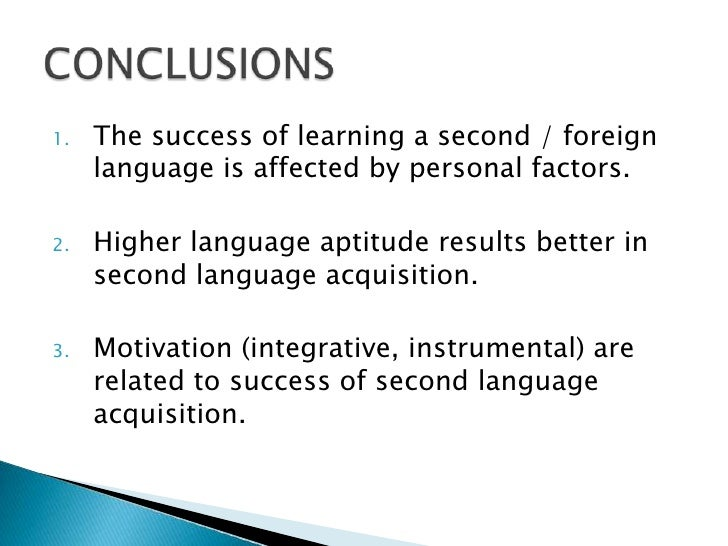 individual learner differences in second language acquisition english language essay Attitude and aptitude in second language acquisition and learning  one sort of individual variation in second language  of child-adult differences,.