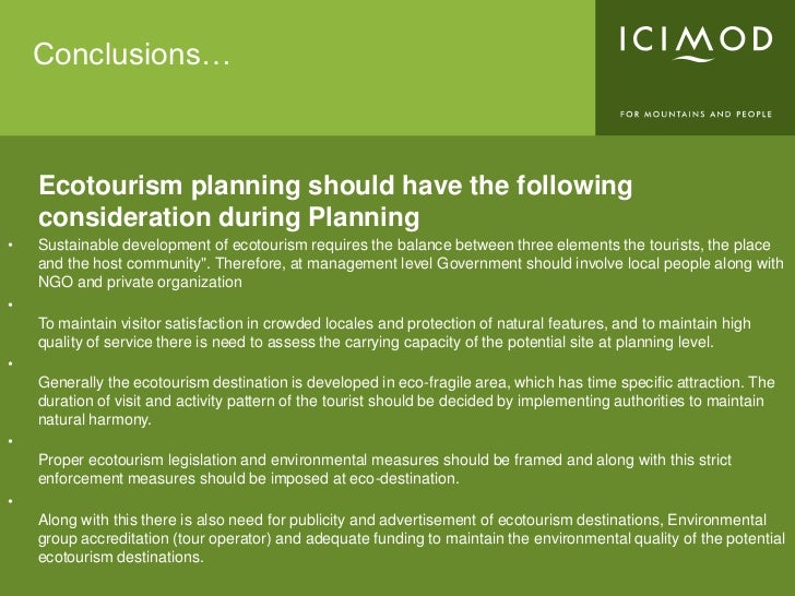 tourism planning and sustainable tourism tourism essay Hotels 25 - 72  the master plan for sustainable tourism development in jamaica is a project of   with jamaica tourist board's (jtb) efforts in promotion being.
