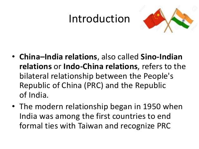 india china relations essay in hindi