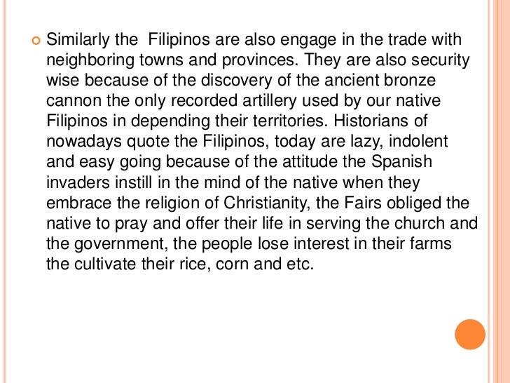 "indolence of the filipino people essay Summary of indolence of the filipinos § ""how is it that the filipino people essay indolence of the filipinos jose rizal summary 3."