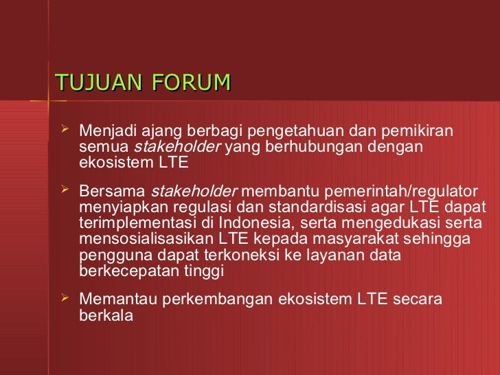 Indonesia forum