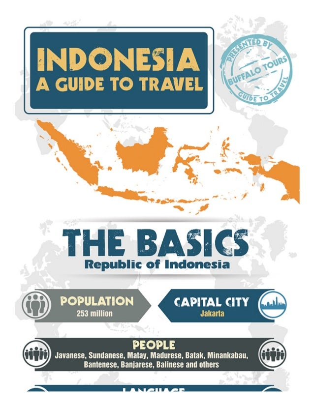 Indonesia Travel guide Infographic
