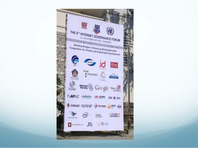 Indonesia, Internet Governance Forum and Multistakeholder Slide 3