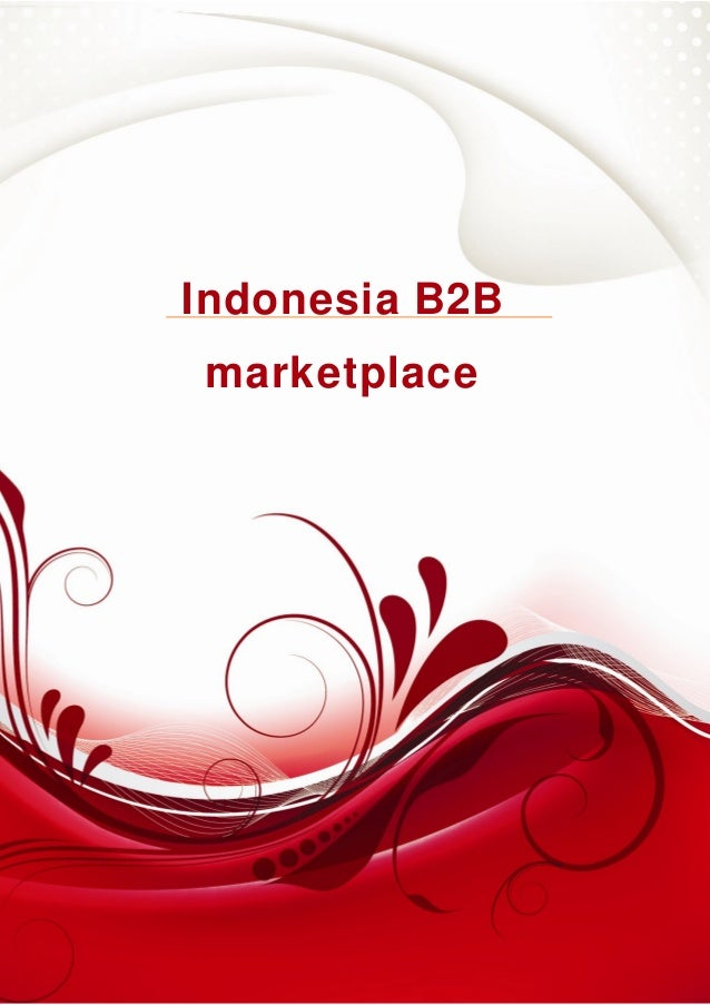 Indonesia B2B Marketplace