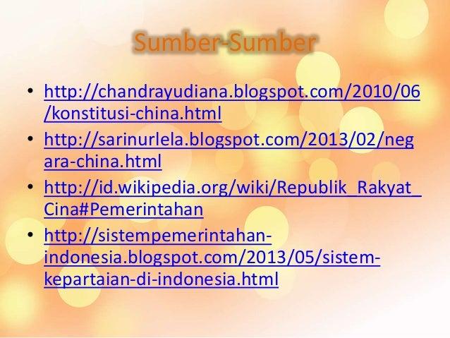 Perbandingan Negara Indonesia China