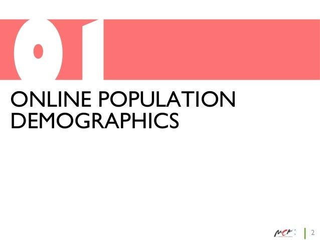 01  ONLINE POPULATION DEMOGRAPHICS  2