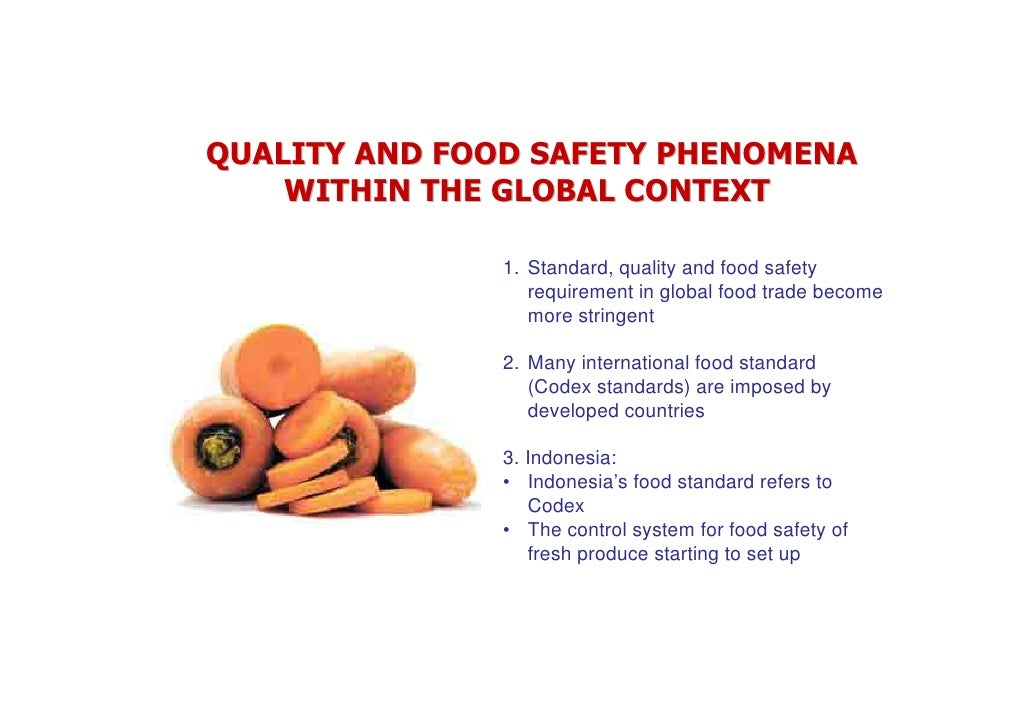 Compliant With Food Safety Requirement