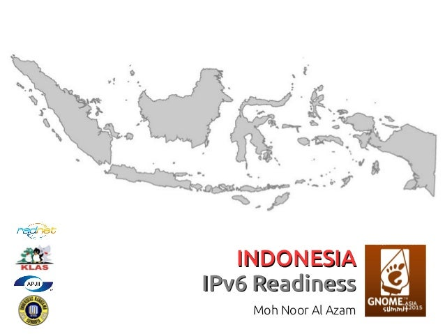 INDONESIAINDONESIA IPv6 ReadinessIPv6 Readiness Moh Noor Al Azam