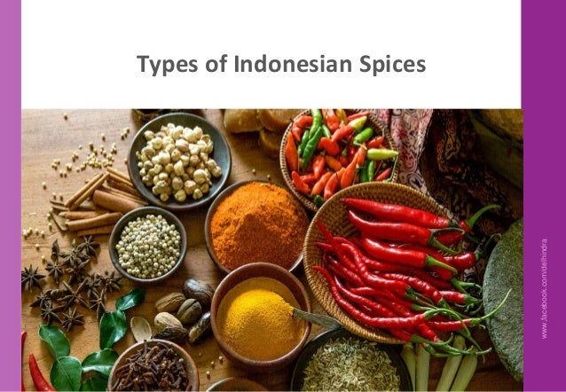 Indonesian Cuisine Knowledge 1 - Culinary Training program