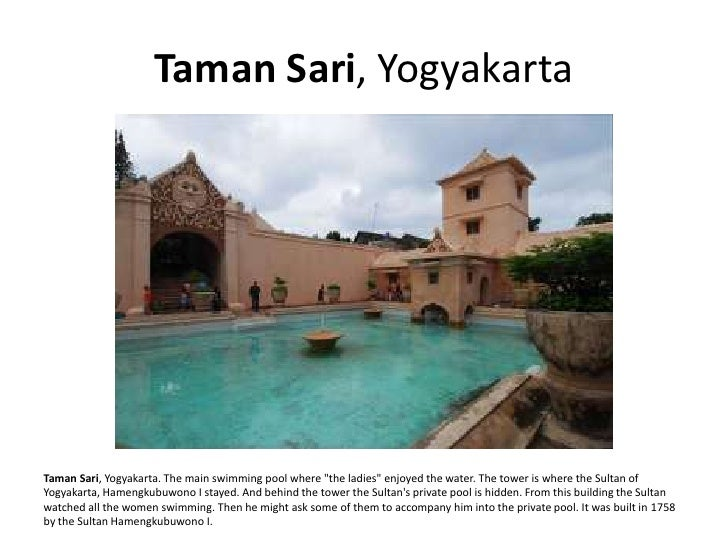 Taman Sari, Yogyakarta     Taman Sari, Yogyakarta. The main swimming pool where quot;the ladiesquot; enjoyed the water. Th...