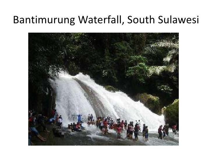 Bantimurung Waterfall, South Sulawesi