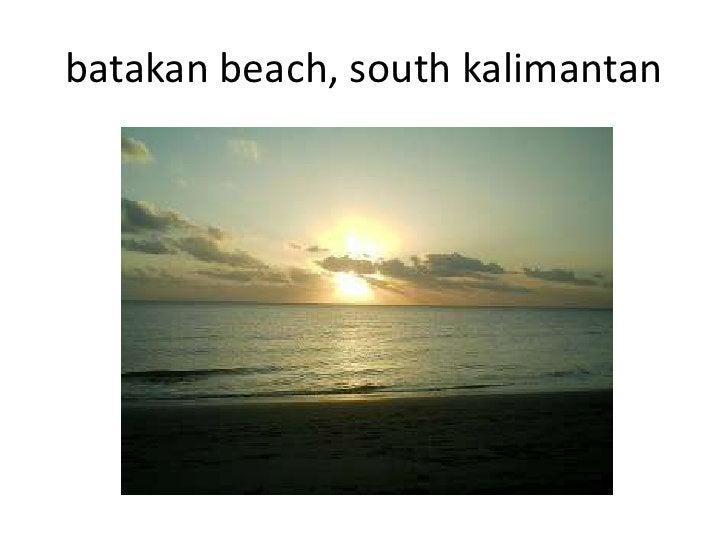 batakan beach, south kalimantan