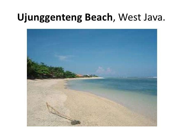 Ujunggenteng Beach, West Java.