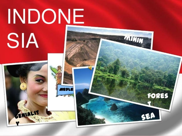 INDONESIA    Medley Culture from Sabang-Merauke                                         fores                             ...