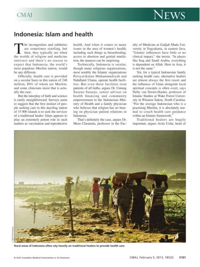 Indonesia on islam and health