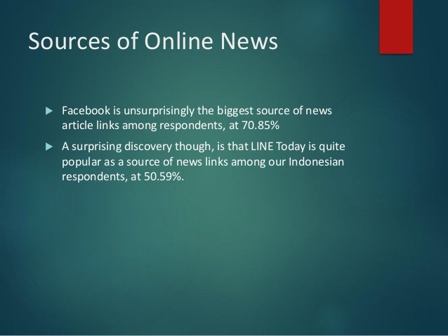 Indonesia Online News Reading Habits Survey 2017 Preview