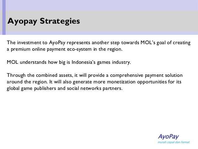The investment to AyoPay represents another step towards MOL's goal of creating a premium online payment eco-system in the...