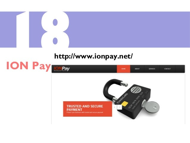 18ION Pay http://www.ionpay.net/