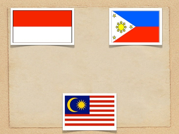 Indonesia, Philippines,    and Malaysia