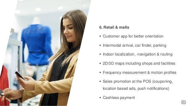 ... finder  Cashless payment; 7. 6. Retail ...