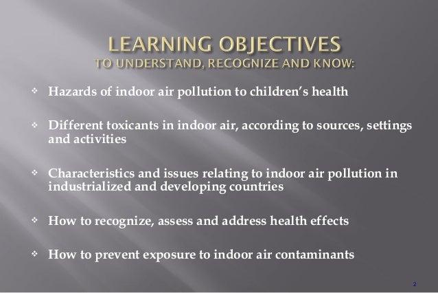 Indoor air pollution Slide 2