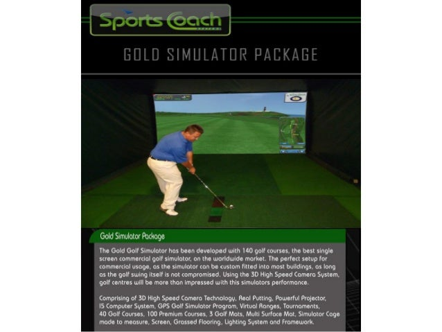 Indoor Golf Amp Sports Simulators 2014 By Health One Thailand