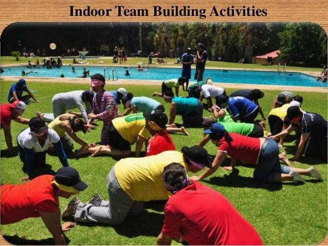 Indoor Team Building Activities