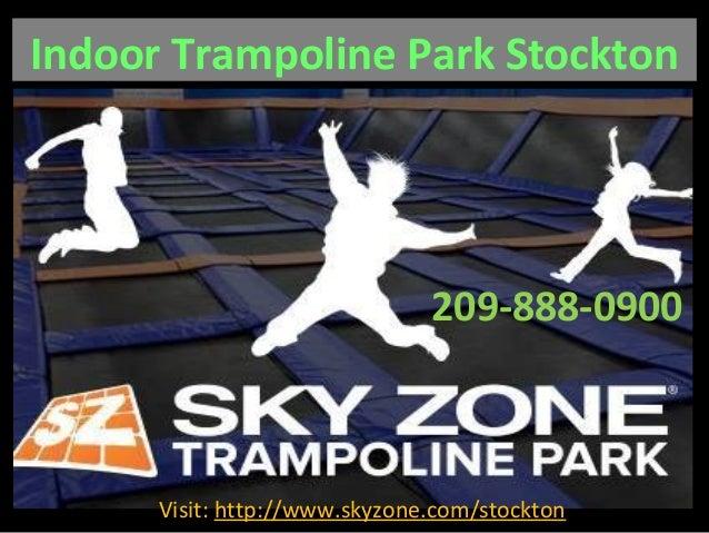 Indoor Trampoline Park Stockton 209-888-0900 Visit: http://www.skyzone.com/stockton